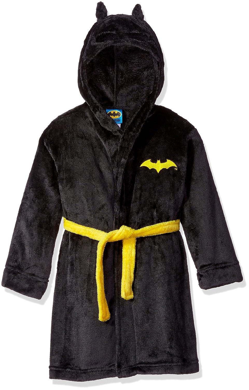 DC Comics Toddler Boy Batman Hooded Robe Black 2T K182791BM