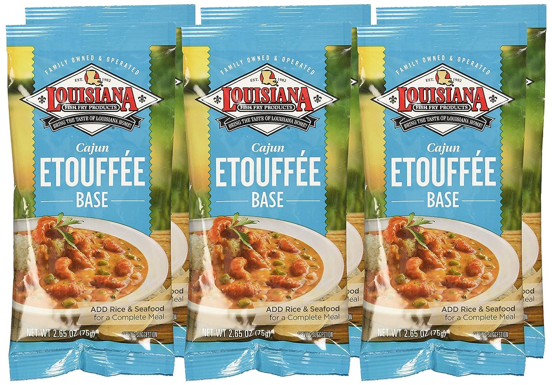 Amazon.com : Louisiana Mix Cajun Etouffee, 6-Pack : Crawfish Etoufee ...
