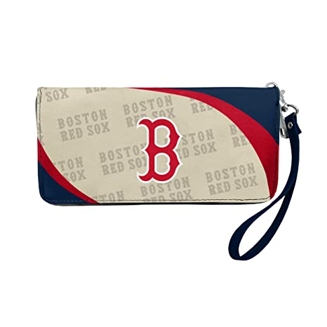 e3eae3ee572 Littlearth MLB Boston Red Sox Womens Wallet Curve Organizer Styleboston Red  Sox Wallet Curve Organizer Style