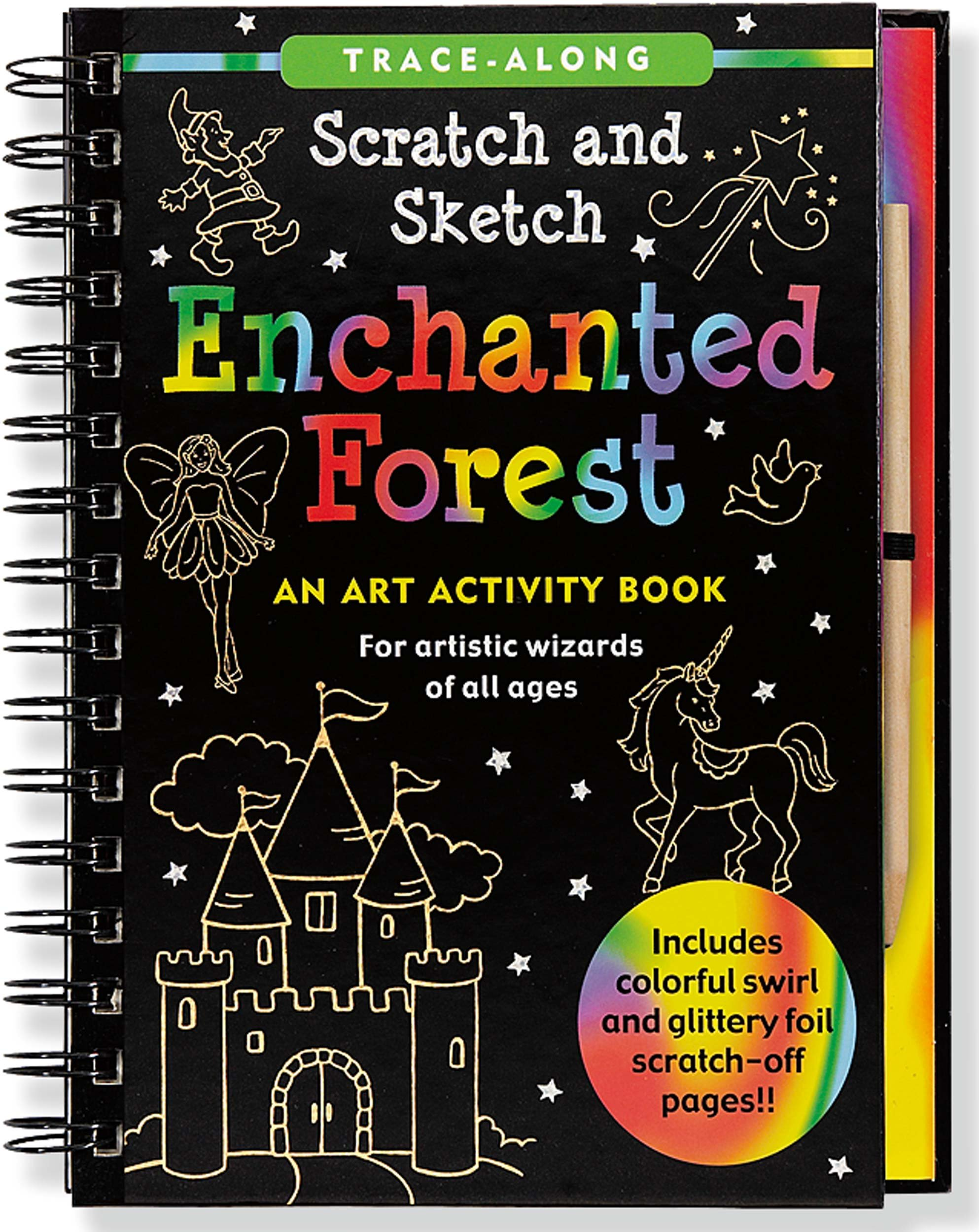 Download Enchanted Forest Scratch and Sketch (An Art Activity Book for Artistic Wizards of All Ages) ebook