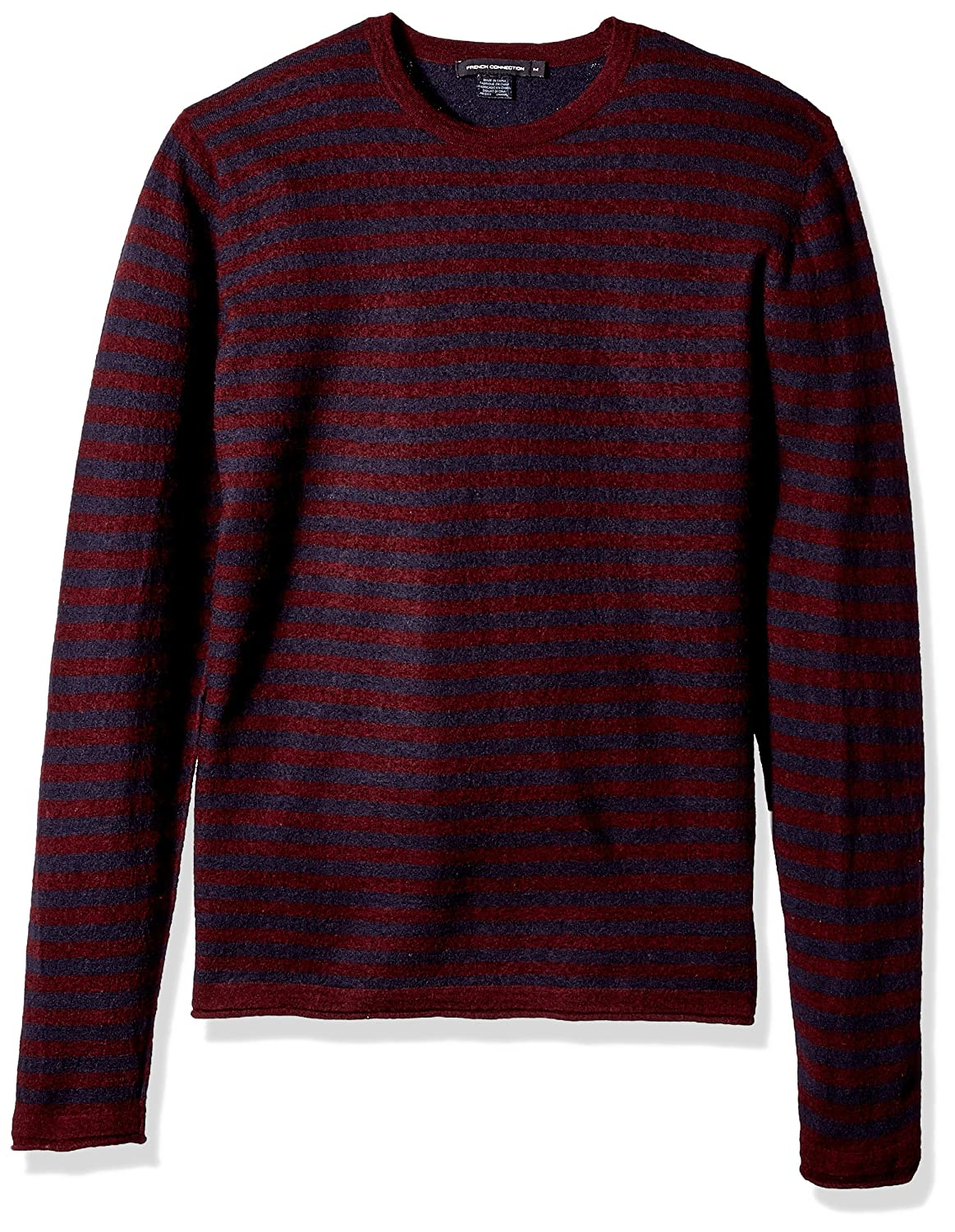 French Connection Mens 2//48s Double Stripe Sweater