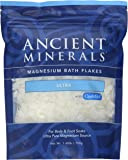 Ancient Minerals Magnesium Bath Flakes Ultra with OptiMSM - Single Use - 1.65 lbs