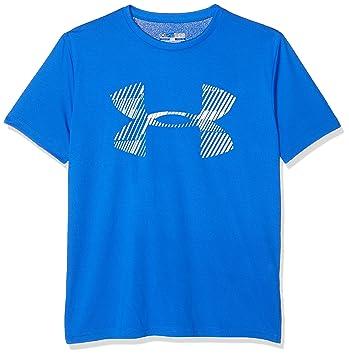 Under Armour Camiseta de Manga Corta Chico con Logo: Amazon.es: Deportes y aire libre