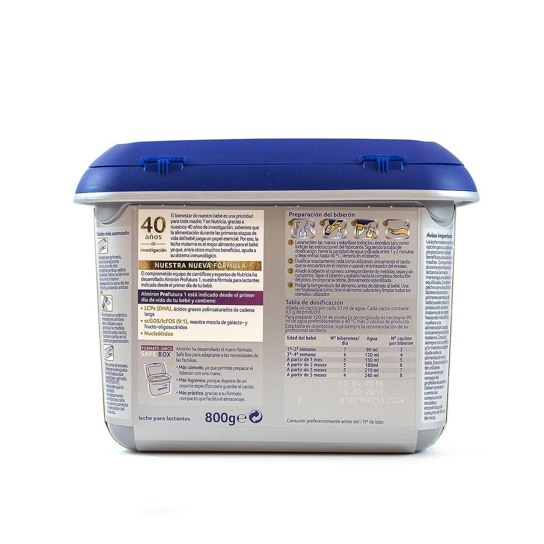 Almirón Profutura 1 Leche de inicio en polvo a partir del primer día - 800 g: Amazon.es: Alimentación y bebidas