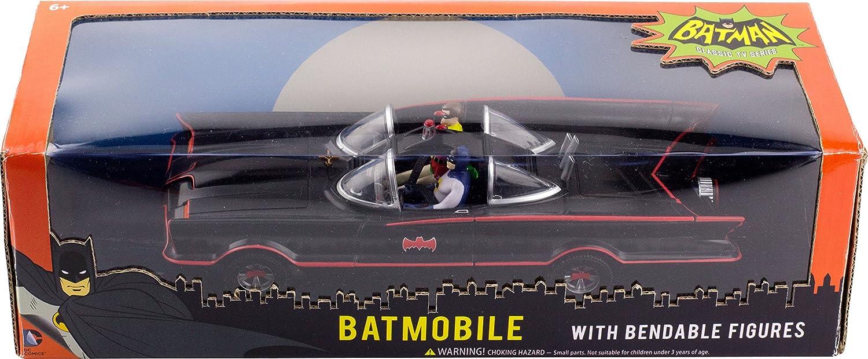 NJ Croce 1966 Batmobile W Batman & Robin Mini Bendable Figs: Amazon ...