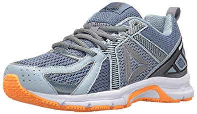edf4c3a666fd Reebok Women s Runner MT Running Shoe Brave Blue Stonewash Gable Grey White