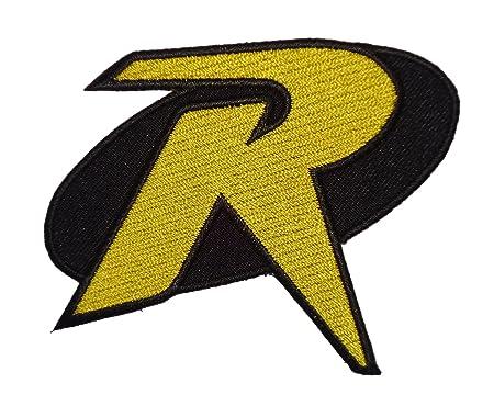 Batman Robin R Uniform Logo Animated Series 35 Costume Patch