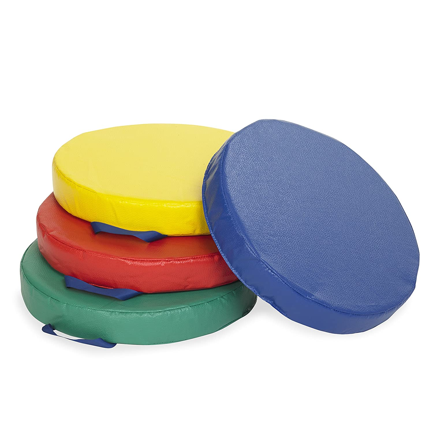 Carry Me Cushions (4-Piece) Round Assorted Colors