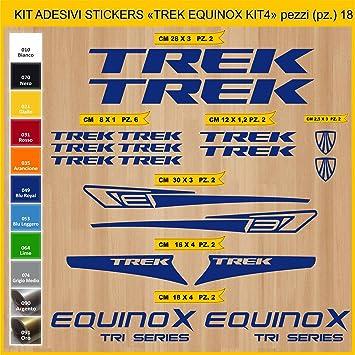 Kit Pegatinas Stickers Bicicleta Trek Equinox - Kit 4-18 Piezas ...