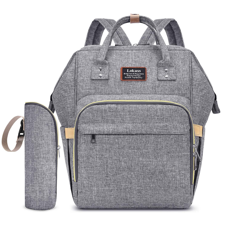 Gym bagbackpack Quatrefoil grey /& platinum