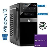 Memory PC Intel PC Core i5-8500 8. Generation (SixCore) Coffee Lake 6x 4.1 GHz Turbo, ASUS, 16 GB DDR4, 250 GB SSD + 2000 GB Sata3/-600, Intel UHD Graphics 630, USB 3.0, SATA3, HDMI, DVD-Brenner, Sound, GigabitLan, Windows 10 Pro 64bit, MultimediaPC, Cardreader, CoffeeLake