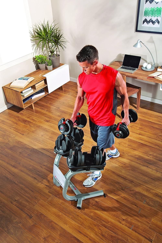 Bowflex Adultos selec ttech 552i Pesas Sistema Único Pesas, Color Negro, Talla única: Amazon.es: Deportes y aire libre