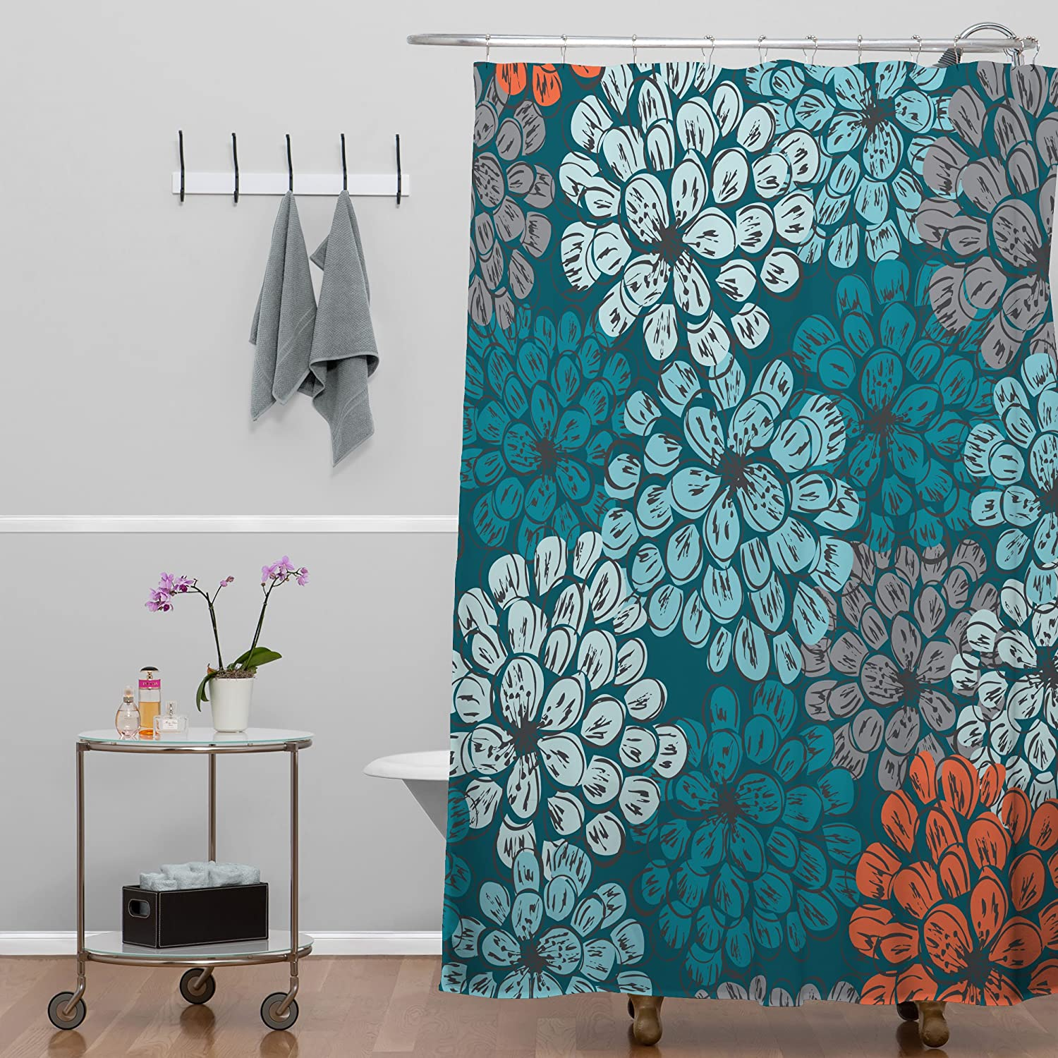 Amazon Deny Designs Khristian A Howell Greenwich Gardens 3 Shower Curtain 69 X 72 Home Kitchen