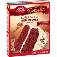 Betty Crocker Super Moist Red Velvet Cake Mix - 432 gr
