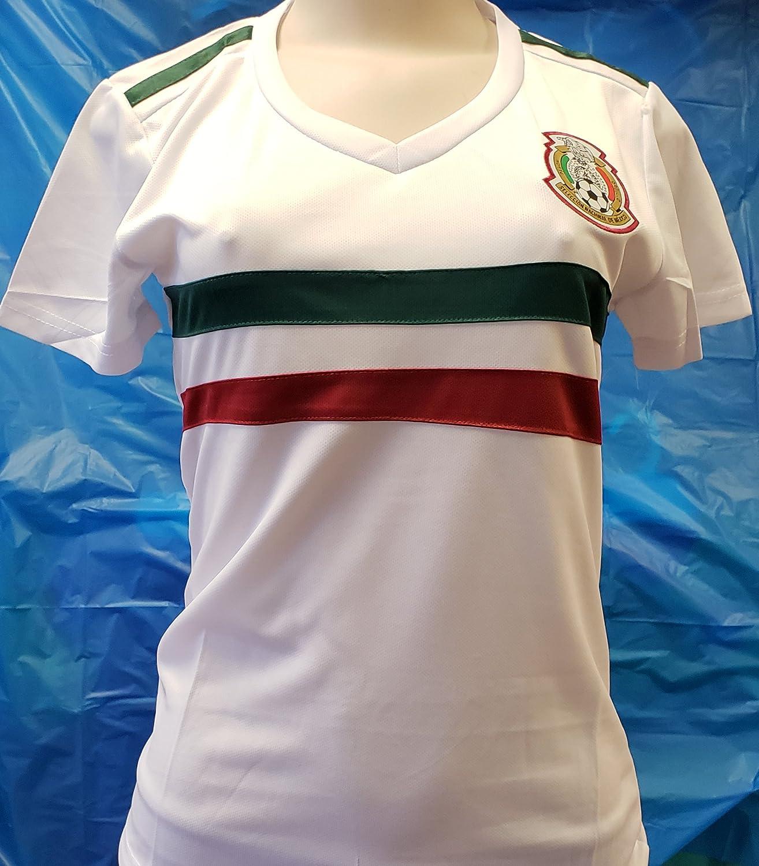 新しい。スポーツLadiesメキシコ国立チーム2018 Generic JerseyサイズXLarge B07D6F7XW9