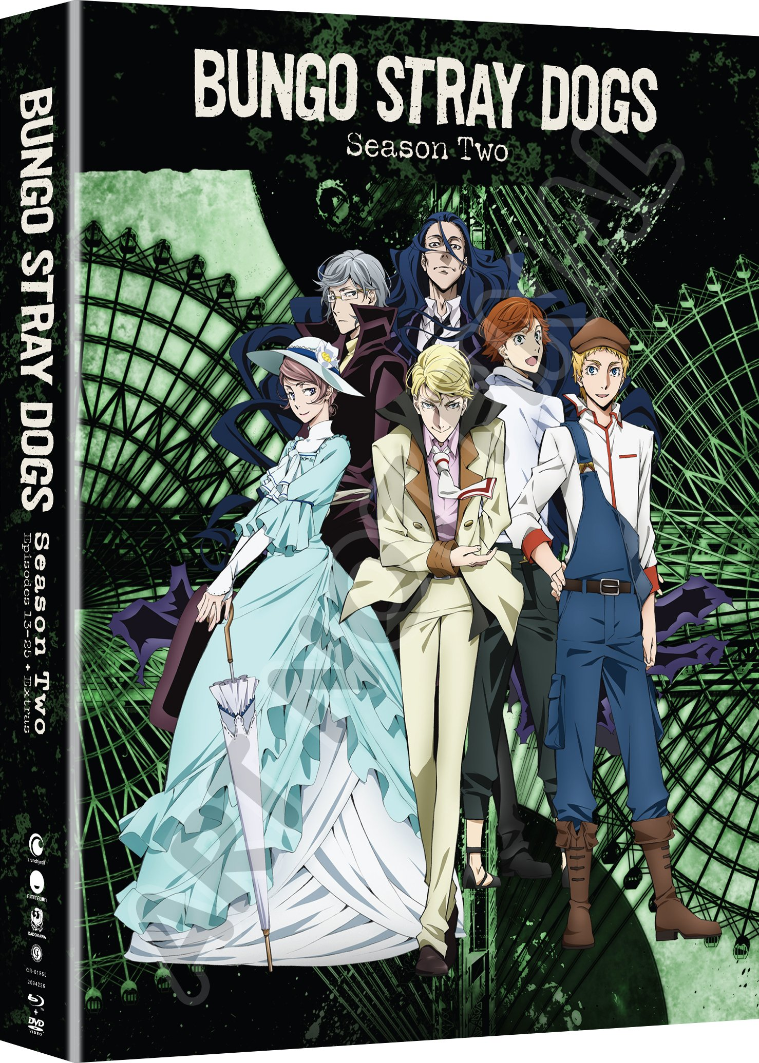 Blu-ray : Bungo Stray Dogs: Season Two (With DVD, Boxed Set, Subtitled, Snap Case, Slipsleeve Packaging)