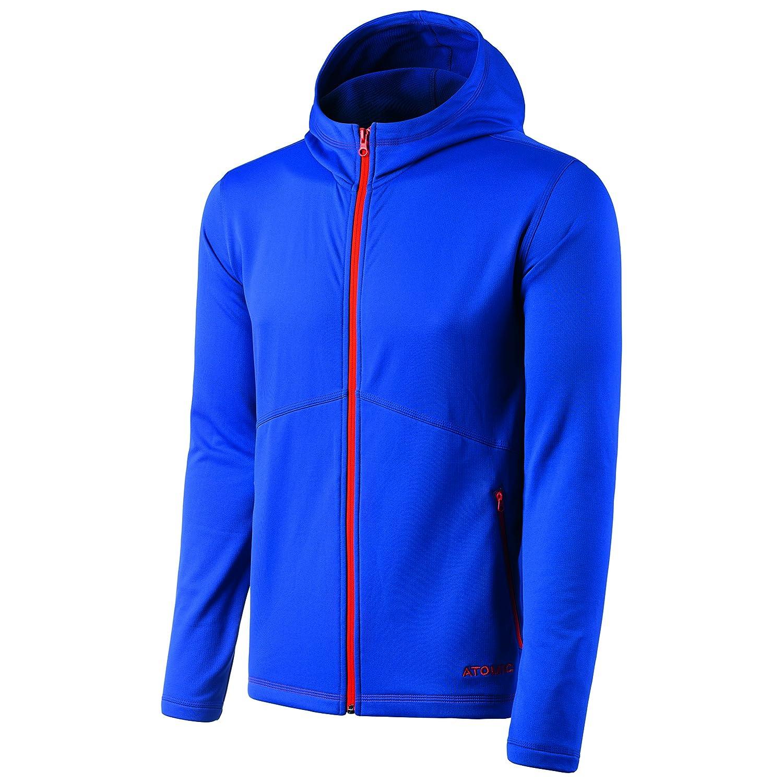 Atomic, Herren Fleece-Jacke mit Kapuze, Ski und Freizeit, Alps Fleece Hoody, Polyester/Elasthan