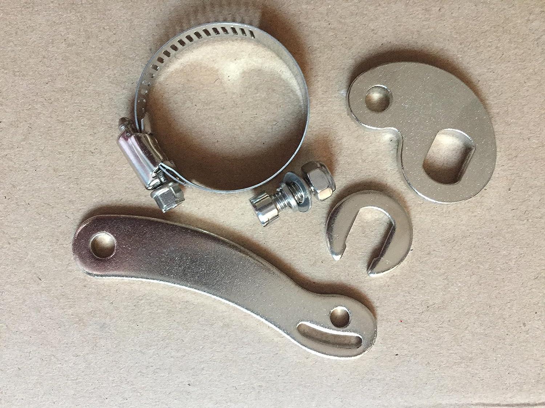 Sandis V/éLo /éLectrique de Rechange Dropout Amplifier Easy Install Accessory Front Rear Replace Electric E Bike Torque Arm Dropout Amplifier Ebike Electric Bicycle Accessories