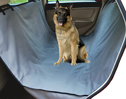 NAC&ZAC Waterproof Extra Side Flaps Hammock Pet Car Seat Cover