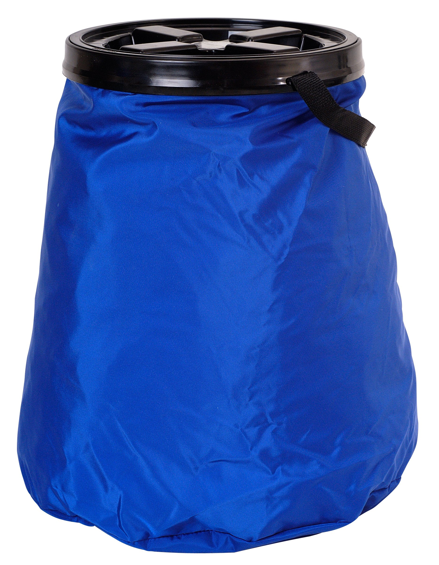 Vittles Vault SoftStore Collapsible, Airtight Pet Food Container 50 Pound Capacity, Blue