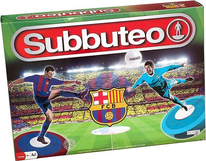 Subbuteo Playset FC Barcelona 3ª Edición: Amazon.es: Juguetes y juegos