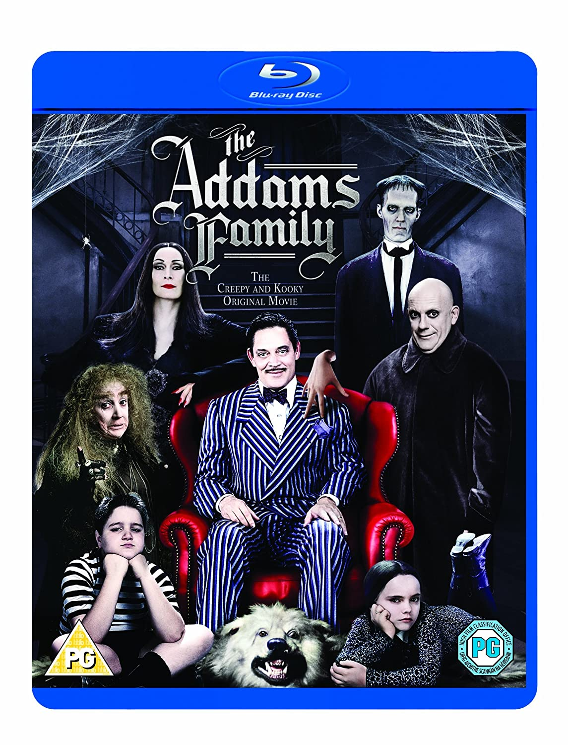 The Addams Family [Blu-ray] [1991] [Reino Unido]: Amazon.es ...