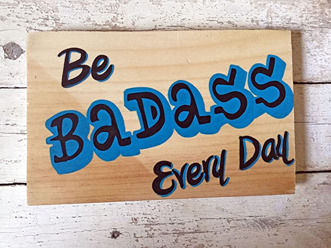 Amazon.com: Wood Signs Sayings, Positive Quotes To Happiness, Wooden ...