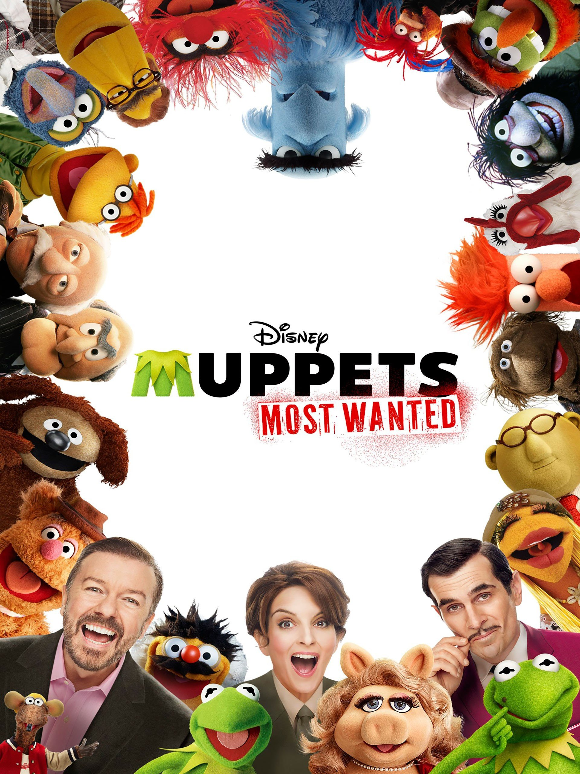 Amazon.com: Muppets Most Wanted (Plus Bonus Features): Ricky Gervais ...