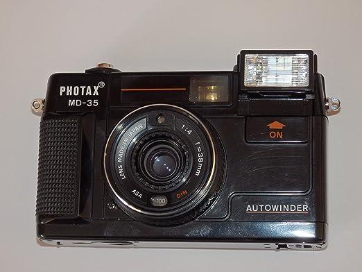 Fotos - photax MD de 35 Auto Winder pantalla pequeña de visor ...