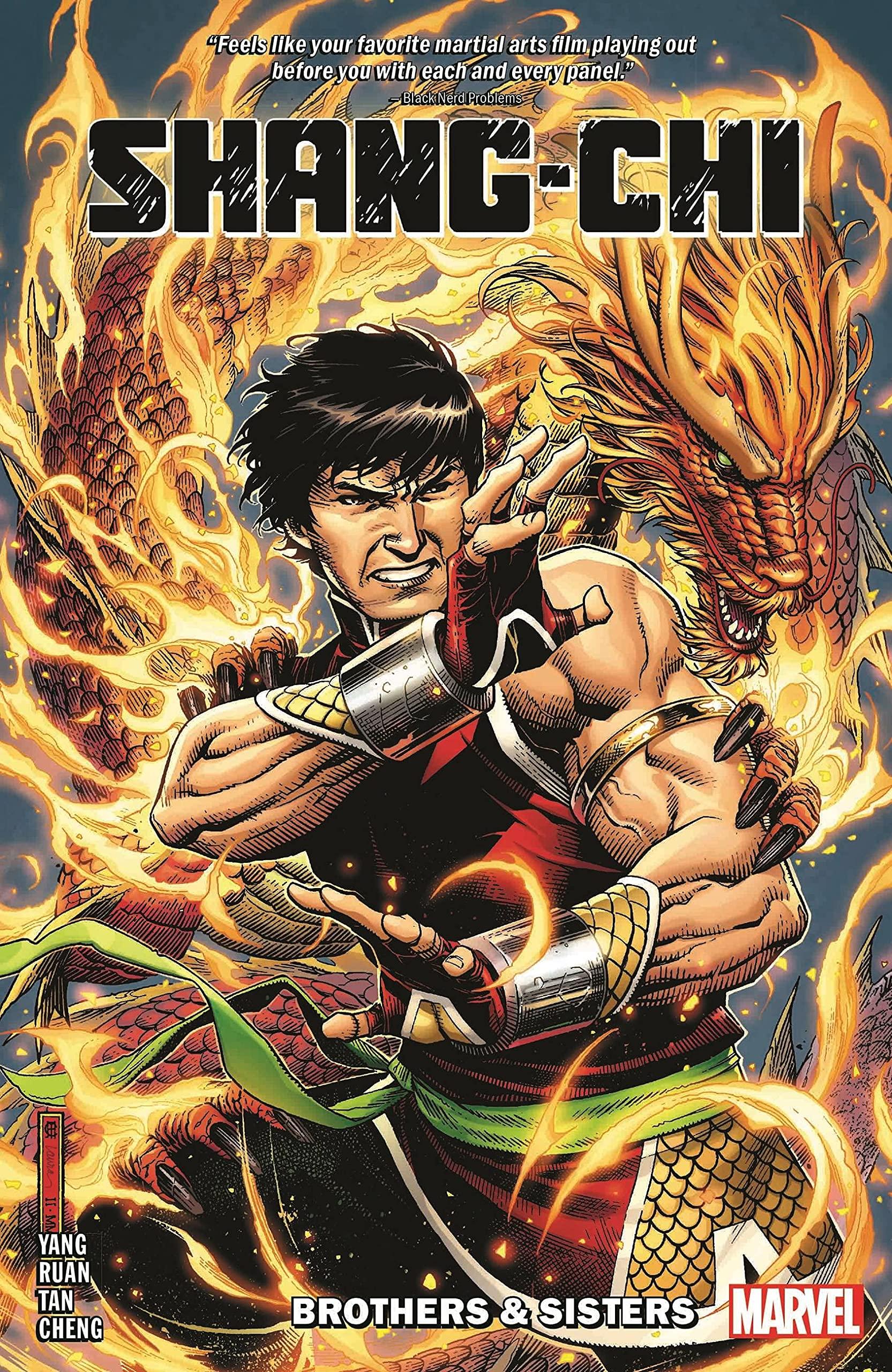 Shang-Chi by Gene Luen Yang Vol. 1: Brothers & Sisters : Yang, Gene, Ruan,  Dike, Tan, Philip: Amazon.in: Books