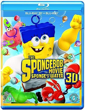 The Spongebob Movie: Sponge Out of Water Blu-ray 3D + Blu