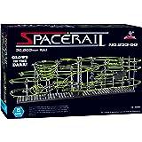 スペースレール(SPACE RAIL) 暗闇で光る 蓄光型 無限ループ スペースレール パズル 知育 脳トレ ジェットコースターのような未来的知育玩具 インテリアとしても存在感大 (233-5G(レベル5))