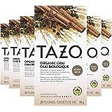 Tazo Organic Chai Black Tea Bags, 20 Count (Pack of 6)