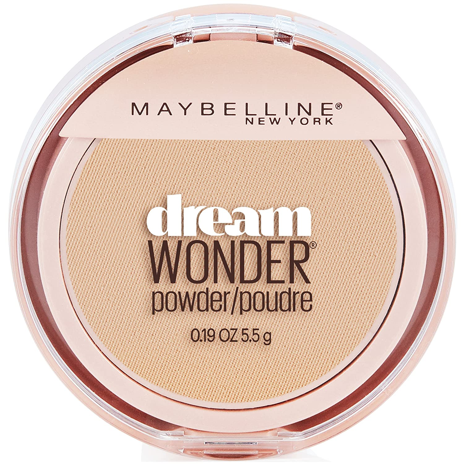 Maybelline New York Dream Wonder Powder, Natural Beige, 0.19 Ounce 70 Natural Beige