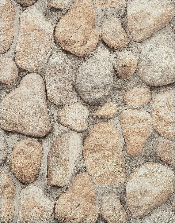 york wallcoverings rn1064 modern rustic river rock wallpaper black 74 amazon com york wallcoverings rn1064 modern rustic river rock wallpaper black 74