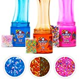 Elmer's Gue Premade Slime, Retro Flash Slime Kit, Includes Fun, Unique Add-Ins, Variety Pack, 3 Count