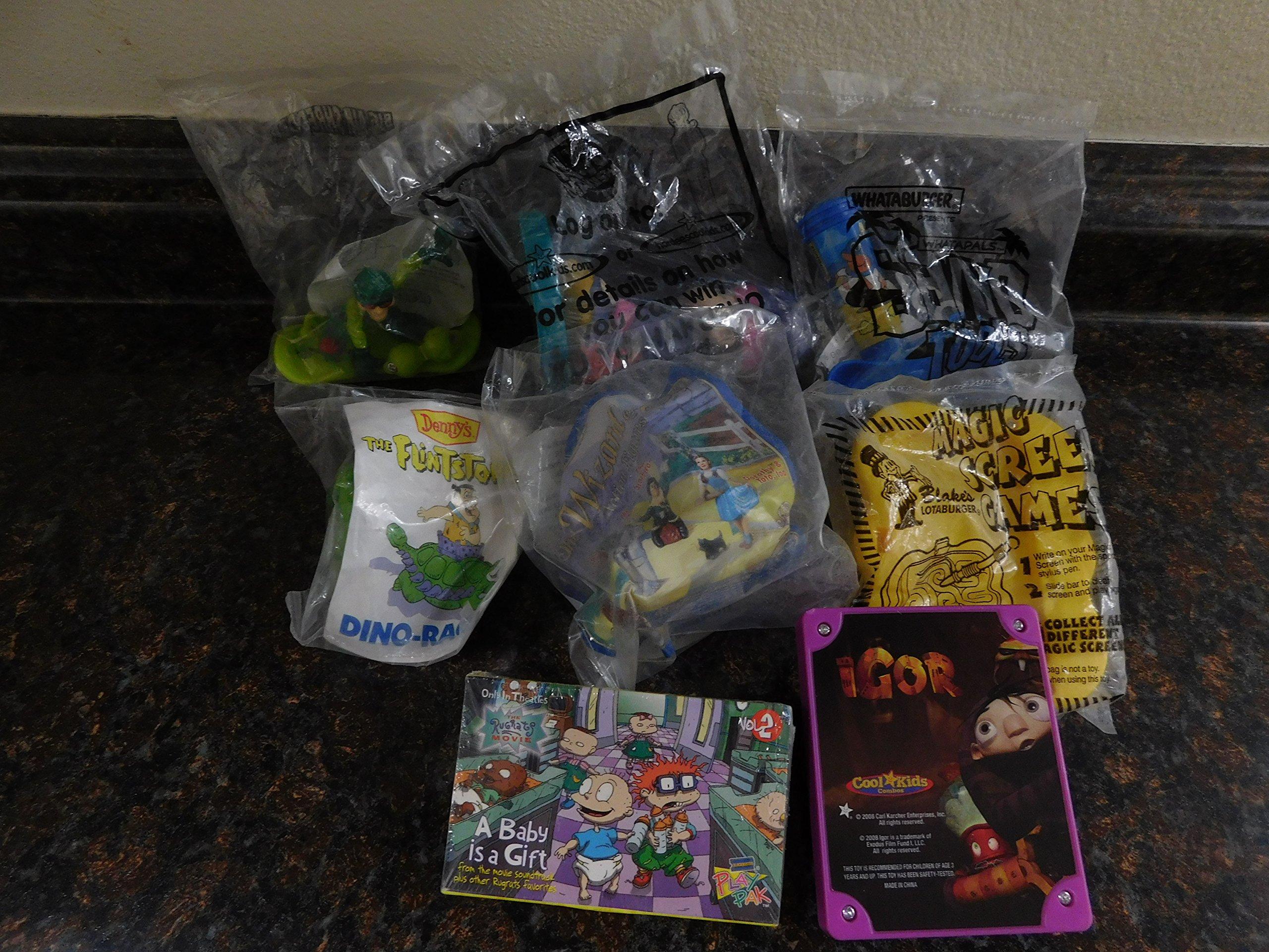 Toys Random Set of 8, 1991s-2000s. Part#0800.