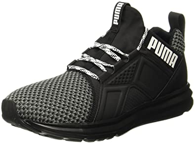 3cc67fc4b6072e Puma Men s Enzo Terrain Asphalt-Puma Black-Puma White Running Shoes - 11 UK