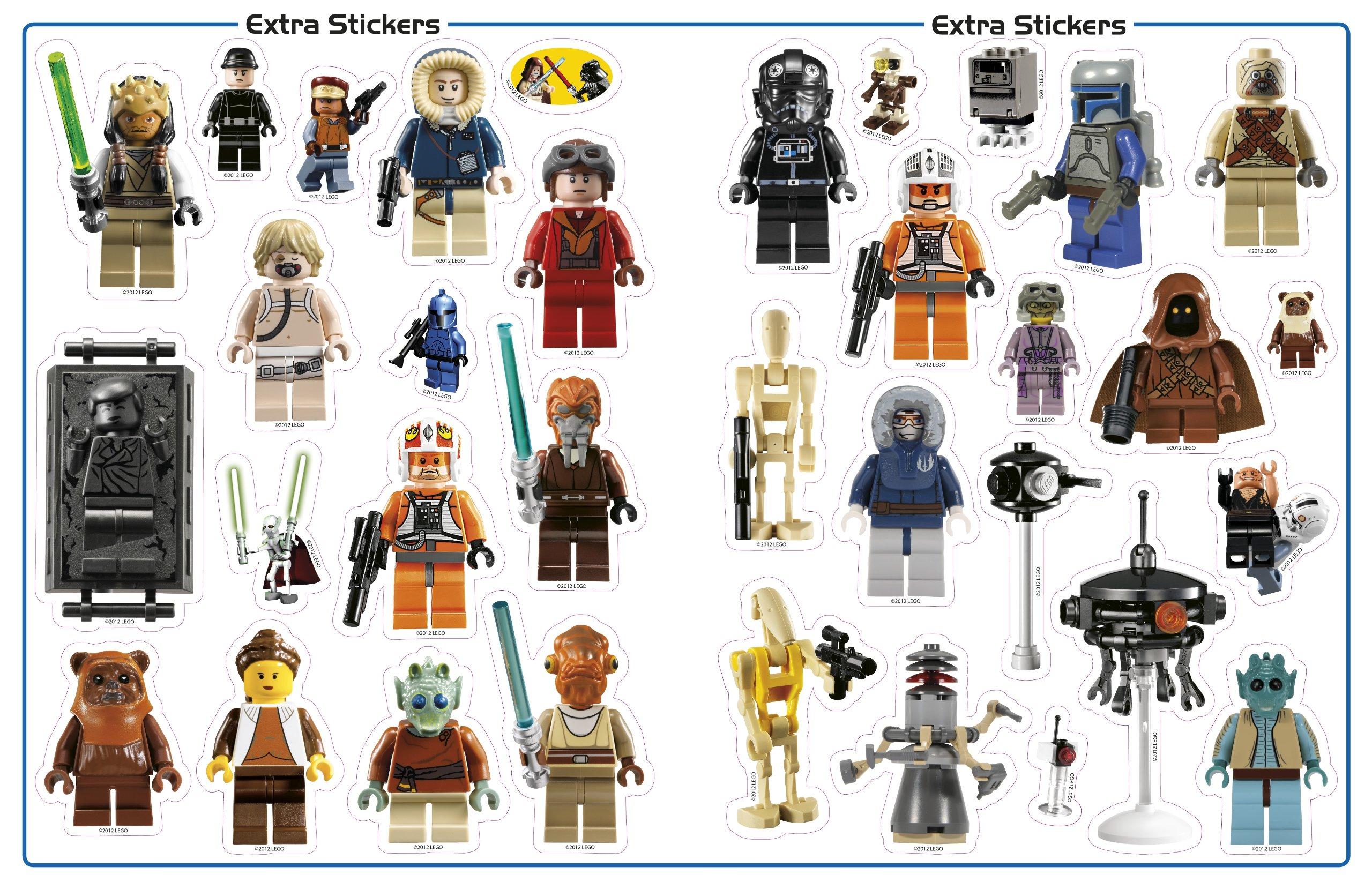 Ultimate Sticker Collection: LEGO Star Wars: Minifigures: Shari Last:  0690472090496: Books   Amazon.ca Part 96