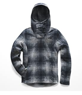 5a21eb354 Amazon.com: The North Face Thermal 3D Snap Hoodie Light Grey Heather ...