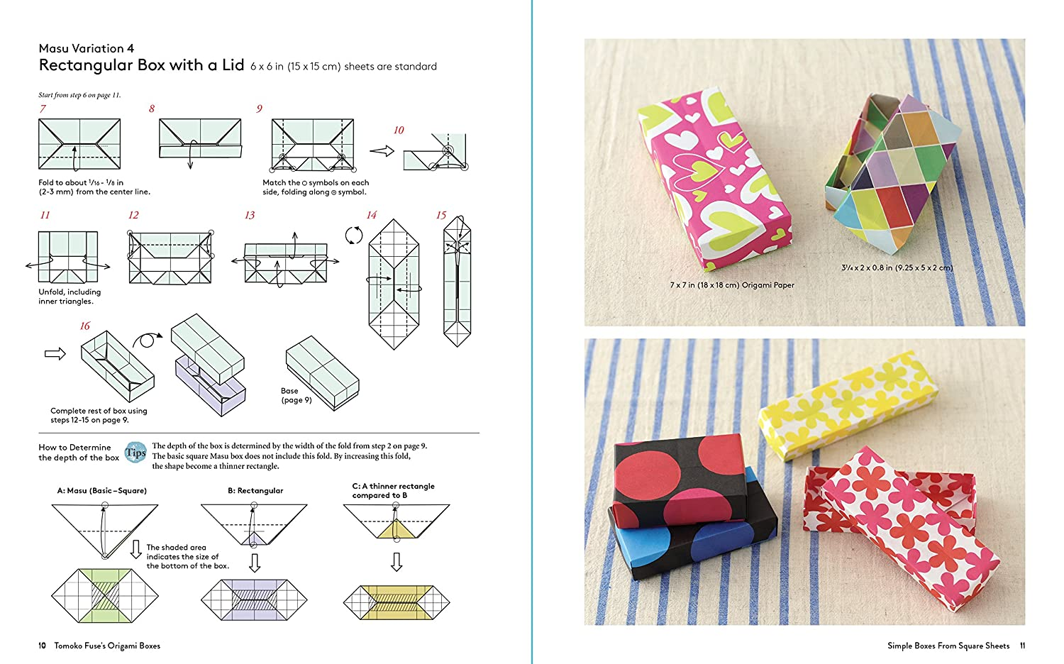 Tomoko Fuses Origami Boxes Book Fuse Author Hexagon Box Instructions Arts Crafts Sewing