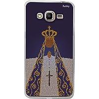 Capa Personalizada Nossa Senhora Aparecida Mosaico, Husky para Galaxy J2 Prime, Capa Protetora para Celular, Colorido