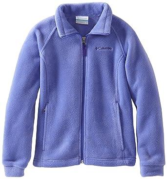Baby Jackets 6 Months  Columbia Little Girls' Toddler Benton Springs Fleece Jacket, Purple Lotus, 2T