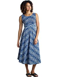 ExOfficio Women's Wanderlux Cap Sleeve Midi Dress