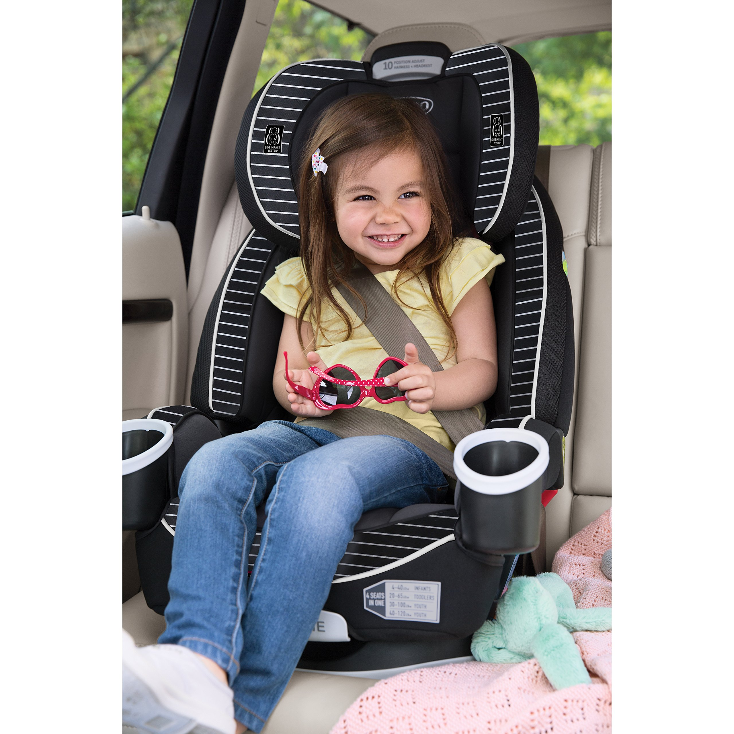 Graco 4Ever 4-in-1 Convertible Car Seat, Studio by Graco (Image #7)