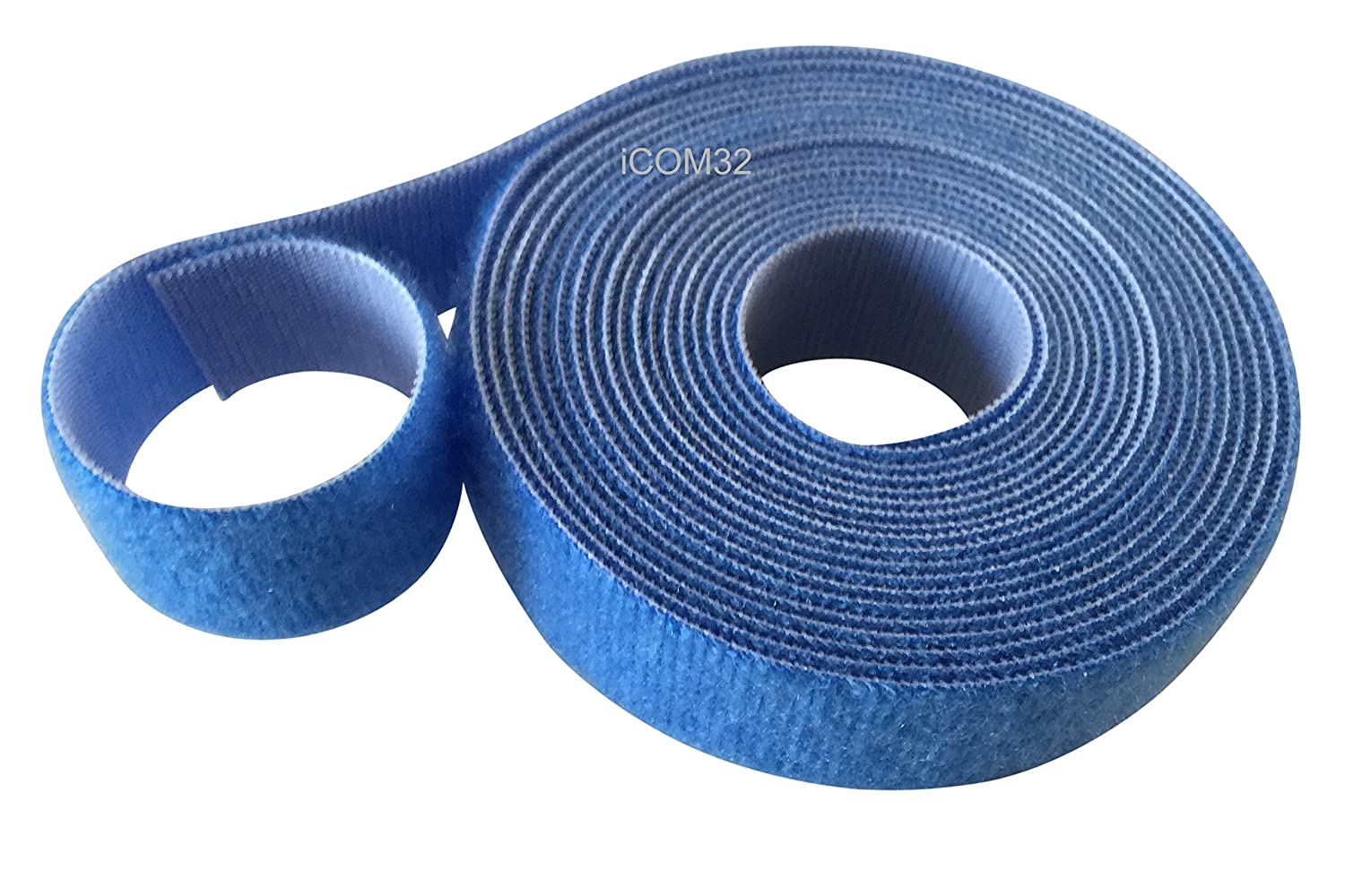 VELCRO® Brand Hook and loop ONE-WRAP® back to back Strapping in BLUE 2CM Wide X 2 Metres Long VELCRO®