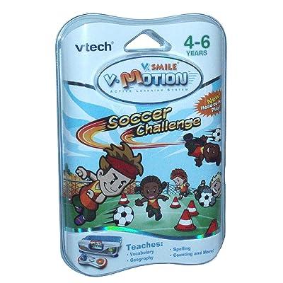 VTech V-Motion Smartridge: Soccer Challenge: Toys & Games