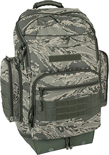 Mercury Tactical Gear Code Alpha Bravo Zulu Pac Operator s Backpack, Air Force Digital Camouflage, One Size