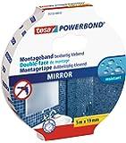 tesa doppelseitiges Montageband Powerbond SPIEGEL, 5m x 19mm