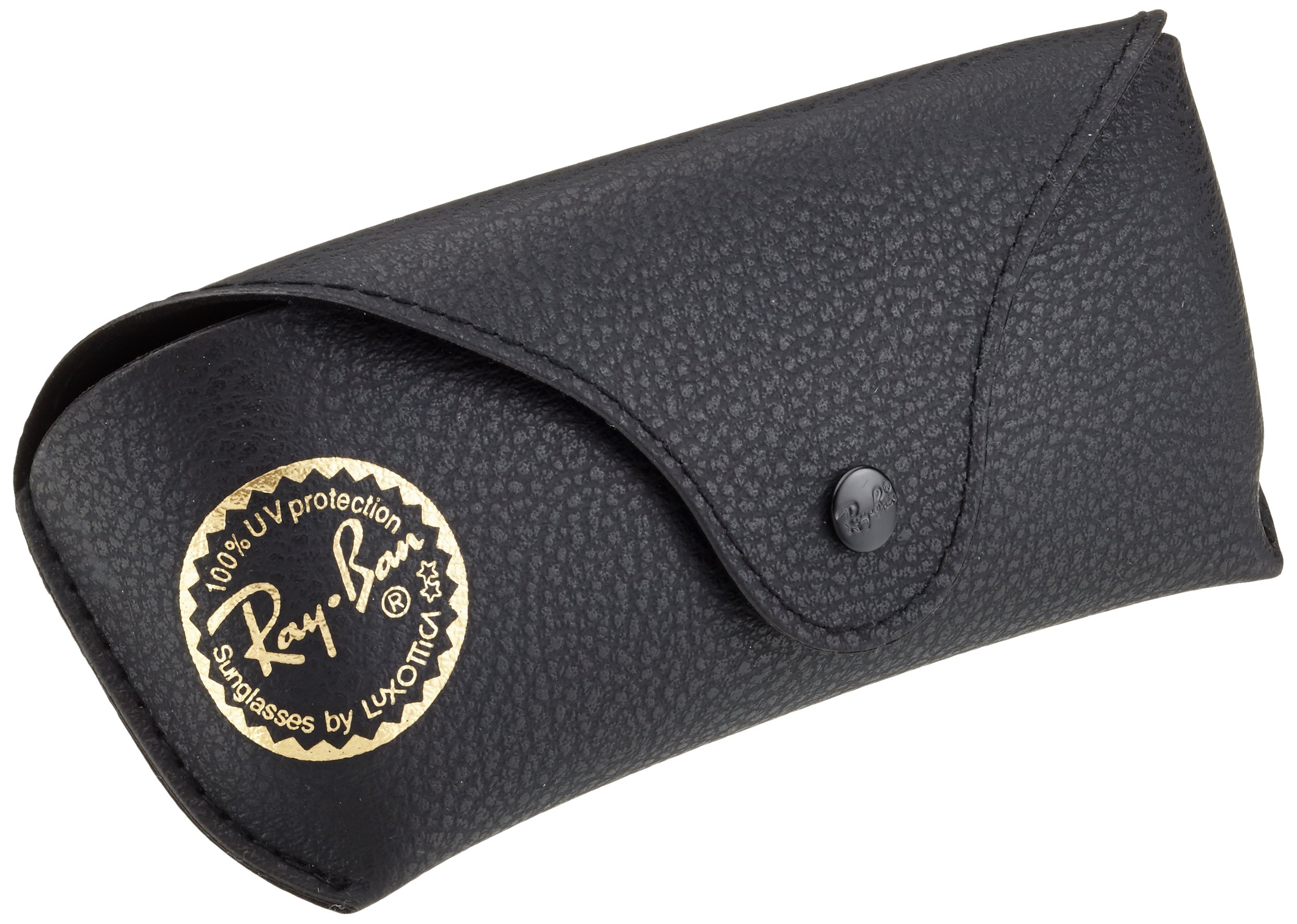 Ray-Ban 3025 Aviator Large Metal Non-Mirrored Polarized Sunglasses, Gold/Green, 55mm by Ray-Ban (Image #6)